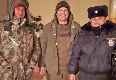 В Переволоцком районе полицейские спасли замерзающих охотников