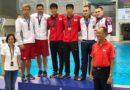 Гран-при по прыжкам в воду в Сингапуре: у бузулучанина Сергея Назина полный комплект наград